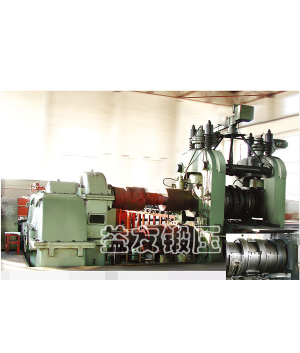 Roller forging machine